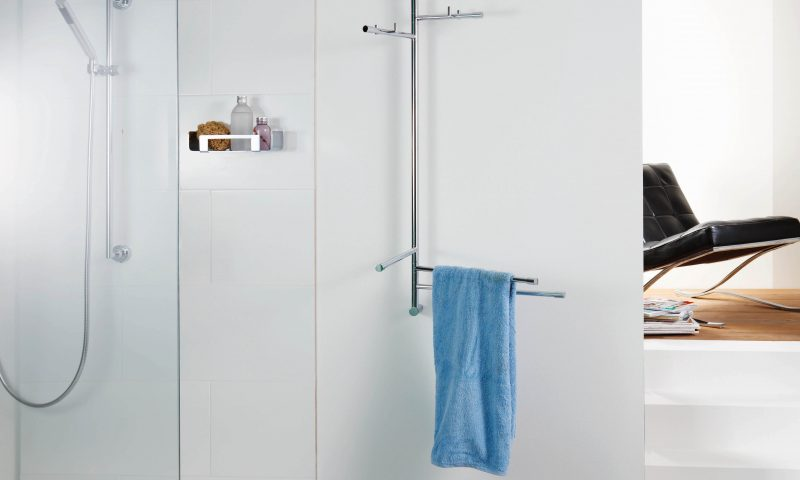 Giese Bader Wandhalter fuer Handtuch Bademantel Kleidung