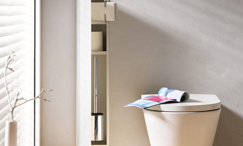 Emco Modula Asis für WC-Papier und WC-Buerste