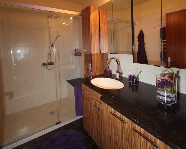 Badezimmer zufriedener Kunden